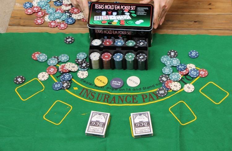 200 Casino Custom Poker Chip Set With Tin Box Review